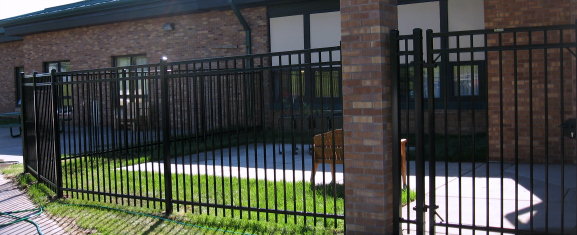 Ornamental Fence gives your property the privacy you need while also being durable and maintenance free